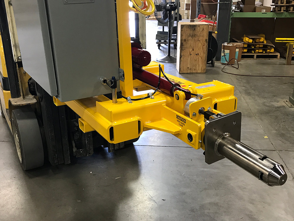 Electric Fork Truck Attachment