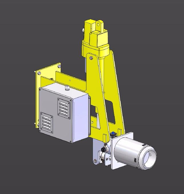 Tilt-Lock Electric Cart Attachment